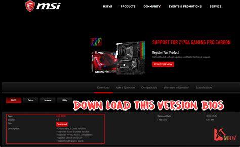 install windows 10 z170 msi z170 7 gpu bios setting step by step steemit