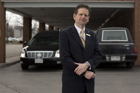 funeral director answering a calling to care for others