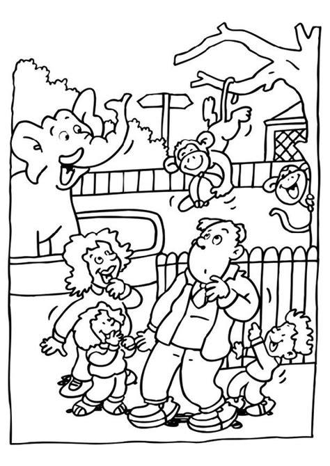 dibujos para colorear zoo dibujo para colorear visita al zool 243 gico img 6481