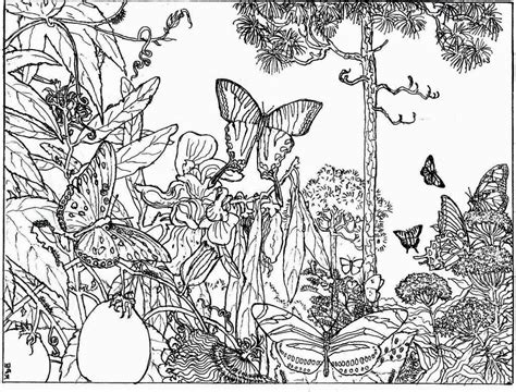 coloring pages hd printable coloring pages scenery nature printable best