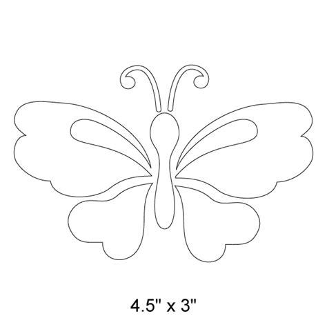 garden butterfly stencil