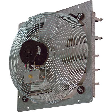 shutter mount exhaust fan tpi shutter mounted direct drive exhaust fan 20in
