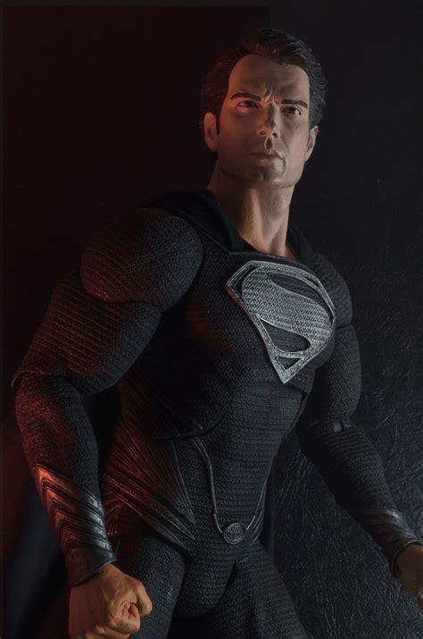 Sweater Steel Series Black neca reveals quarter scale of steel superman the