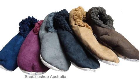 mens sock slippers mens boys slipper shoe slumbies socks fleece winter anti