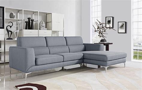 light gray sectional sofa xena light grey modern sectional sofa set contemporary