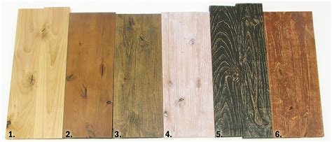 6 rustic reclaimed weathered distressed alder wood