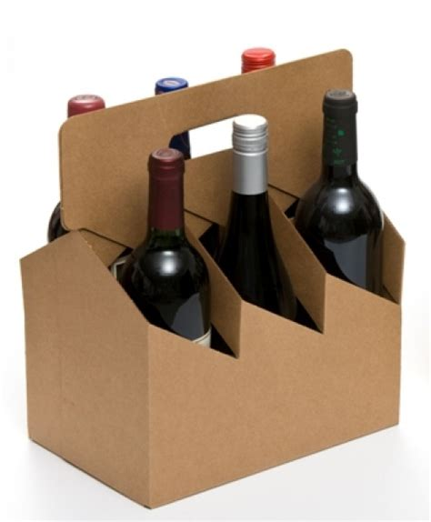 wine carriers product brick packaging