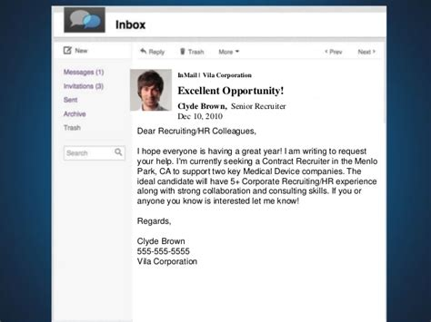 Sample Talent Resume by Inmails The Good The Bad And The Ugly