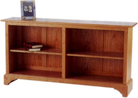 horizontal bookcase with drawers stephen furnituremaker