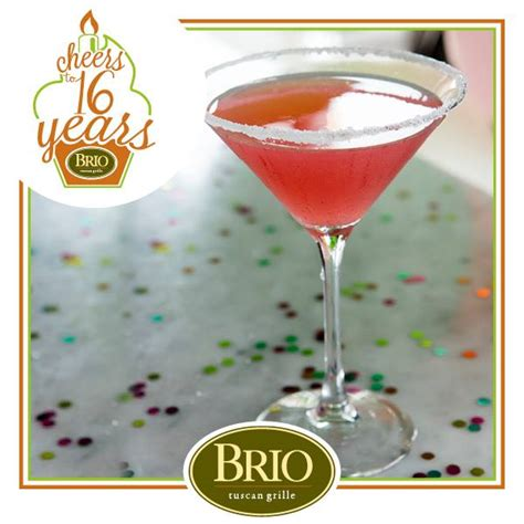 brio birthday toast brio tuscan grille s sweet 16 with a pretty in pink