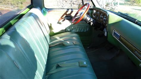 1975 Chevy Truck Interior by 1975 Chevy C 10 Silverado Bed Classictrucks Net