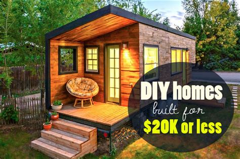 6 Bedroom Modular Home Floor Plans by 6 Eco Friendly Diy Homes Built For 20k Or Less