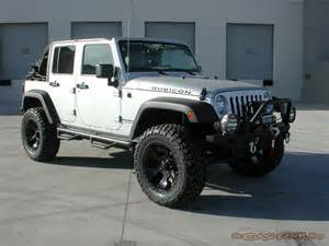 Silver Lifted Jeep Jeep Wrangler Unlimited Lifted No Doors Image 132