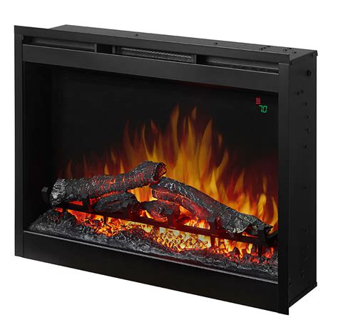 electric fireplace insert dimplex dimplex 26 in electric fireplace insert dfr2651l