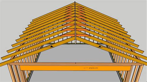 loading on ceiling joists conventional framed roof what are roof rafter collar ties house framing parts