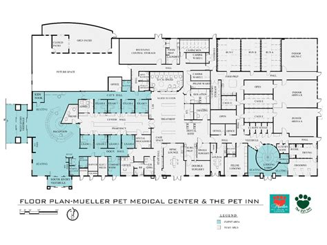 medical center floor plan 2014 veterinary hospital of the year fostering a family feel