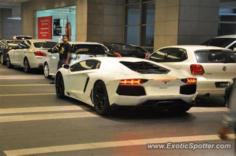 Lamborghini Malaysia Website Lamborghini Aventador Spotted In Bukit Bintang Kl