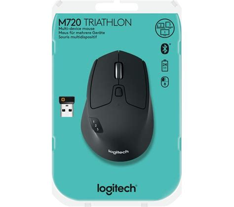 Logitech M720 logitech m720 triathlon wireless optical mouse deals pc