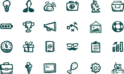 doodle science login jolly icons 400 vector icons