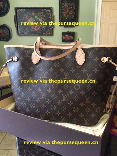 louis vuitton  neverfull monogram replica review email