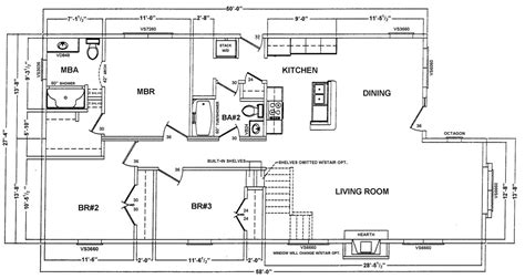 ranch homes floor plans homes by stoddard s hi tech ranch