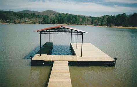 boat dock styles stainless steel heavy steel boat docks - Single Slip Boat Dock