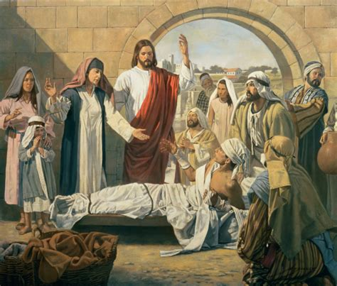 imagenes de jesus sanando christ raises the son of the widow of nain