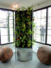 Indoor Vertical Garden by Tower Garden Aquaponics Details Plans Diy