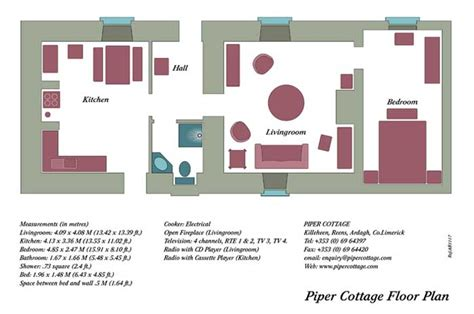 Open Floor Plans For Kitchen Living Room Self Catering Cottage For Couples Near Adare In Co Limerick