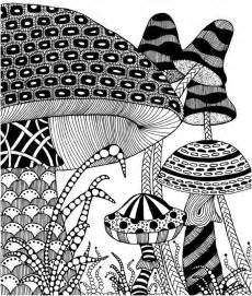 coloring autumn mushrooms autumn 3