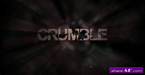 crumble after effects project revostock 187 free after