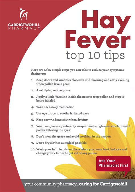 8 Tips For Dealing With Hayfever by Top 10 Tips For Dealing With Hay Fever
