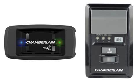 chamberlain garage door opener programming