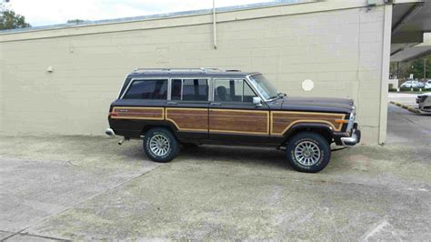 1989 Jeep Grand 1989 Jeep Grand Wagoneer Pictures Cargurus