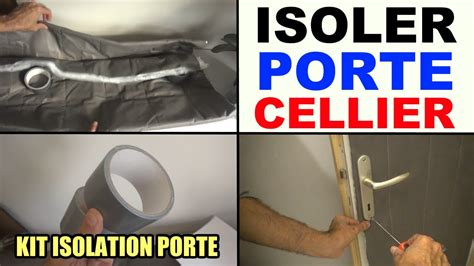 isolare porta garage isoler une porte de cellier service garage kit isolation