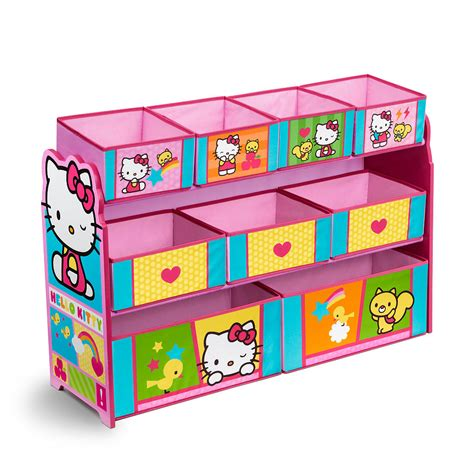 toy storage bookcase with tubs toy organizer with bins playroom cartoon toy storage