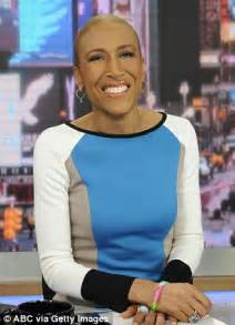 amy robach bald amy robach announces on gma she has breast cancer and will