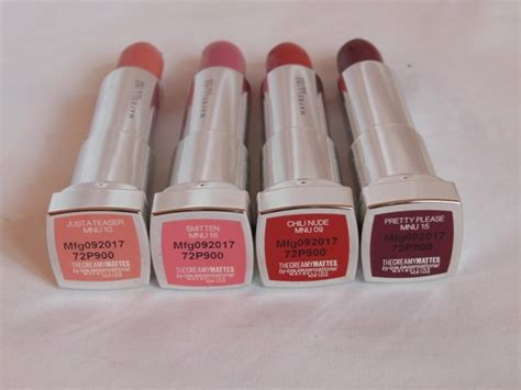 Maybelline Inti Matte new maybelline inti matte lipstick collection best for warm skintones
