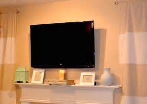 Tv Cabinet Freedom Remodelaholic Wall Mount Your Flat Screen Tv For Under