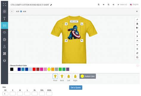 design t shirt tool corporate shirt design everytees com