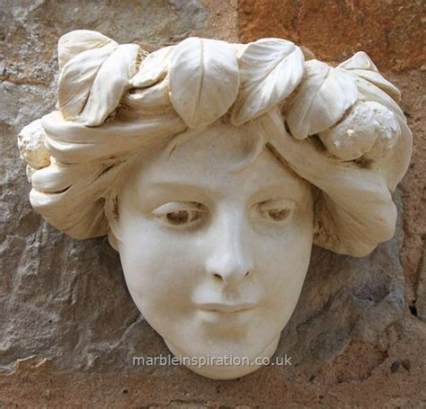 garden wall ornaments uk mucha planter wall decoration garden ornaments buy
