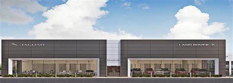 jaguar land rover dealership jlr unveils store design