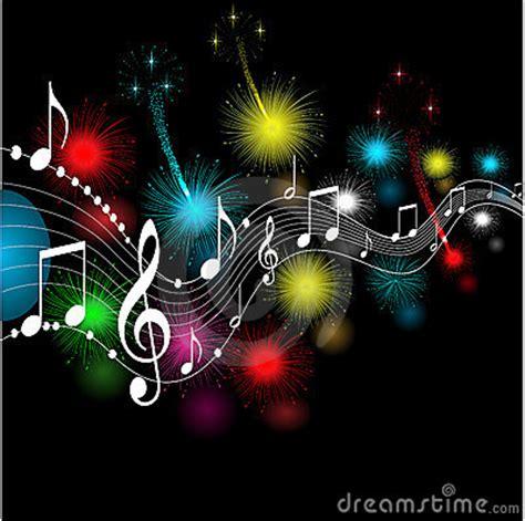 imagenes musicales animadas notas musicales imagen de archivo imagen 19446431