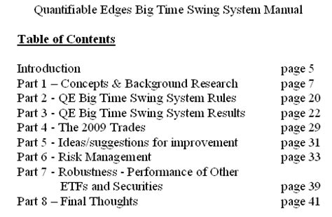 swing index system quantifiable edges big time swing system quantifiable edges