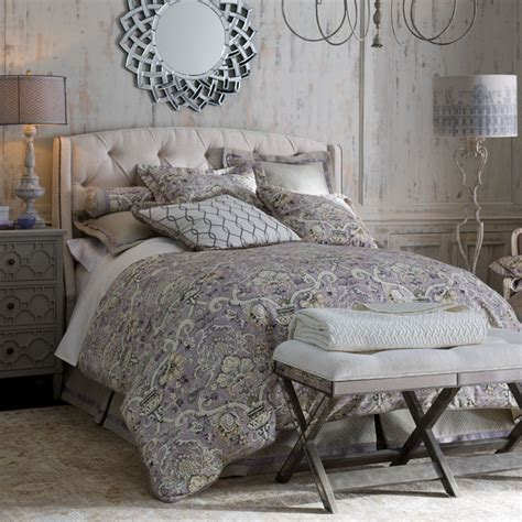 grey and lavender bedroom quot lavender gray quot bedroom traditional bedroom by horchow