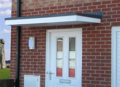modern door awning the cherwell overdoor canopy the canopy shop