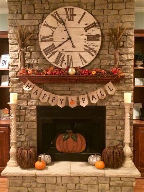 1000 ideas about fall fireplace mantel on pinterest fall decorations for the fireplace fall decor