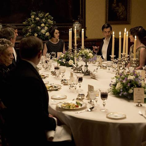 how to throw a great dinner how to throw a downton dinner housekeeping