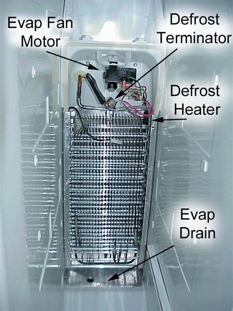 kenmore side by side refrigerator evaporator fan not working maytag gemini double oven wiring diagram maytag electric