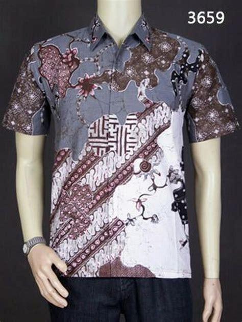Kemeja Batik Baju Batik Khas Pekalongan 3661 Berkualitas jual baju kemeja batik pria modern pekalongan berkualitas di lapak diara dimka diaradimka